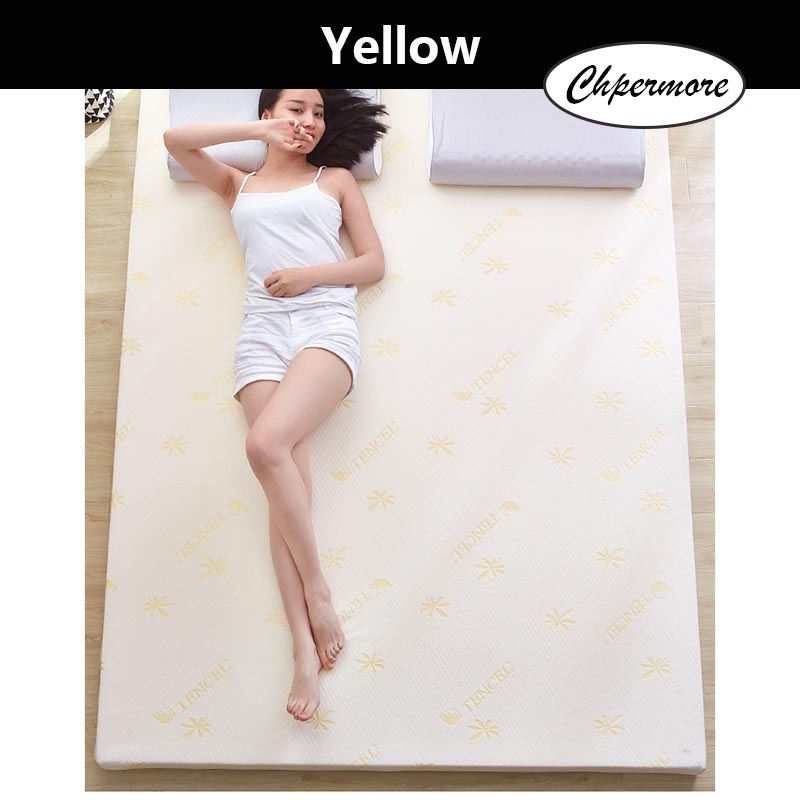 Chpermore Thicken Memory Foam Mattress Foldable Slow rebound Tatami Cotton Mattress Cover Bedspreads King Queen Twin Full Size 1