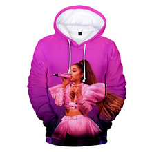 New popular 3D Ariana Grande hoodies women men pullovers fas