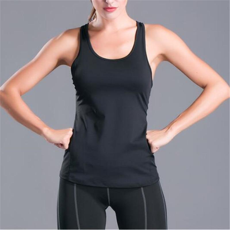 Ladies Fitness Sports Tops Sleeveless Shirts Ladies'S Running Wear Ladies'S Shirts Fitness Clothing Sleeveless Femal Blouse