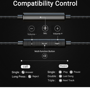 Image 5 - Langsdom Metal Earphone Headphones with Mic 3.5MM Wired Stereo Headset Hifi In Ear Earphones for Phone Xiaomi fone de ouvido