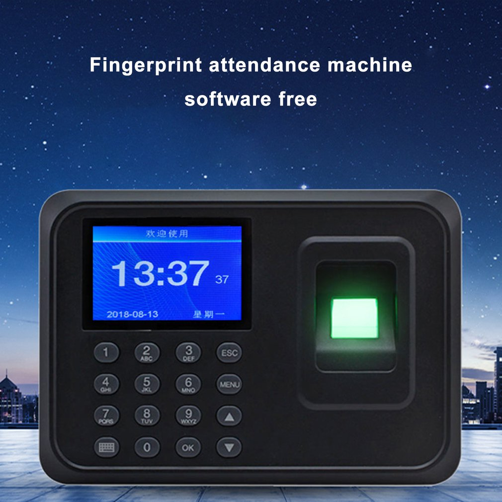 H1 Fingerprint Attendance Machine Attendance Machine Fingerprint Punch Card Machine Attendance Machine