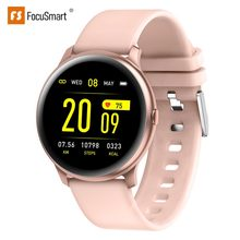 FocuSmart 2020 Smart Watch Fitness Tracker Blood Pressure Heart Rate Monitor Waterproof Sport Smartwatch kw19 For IOS/Andriod(China)