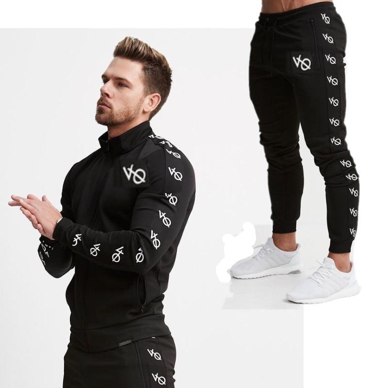 Brand 2019 Spring Autumn Men'S Fashion Sportswear Sporting Men Clothes Track Tracksuits Male Sweatshirts Men Plus Size Men Set