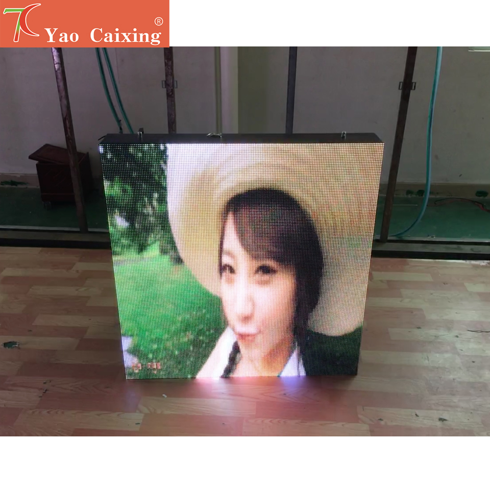 P6 Outdoor 960*960mm Waterproof Screen With Wifi Controller For Small Outdoor Advertisement ,shopping Signs