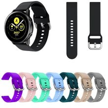 Soft Silicone Replacement Watch Band Wrist Strap Sport Watchband Bracelet For Samsung Galaxy Active Accessorie