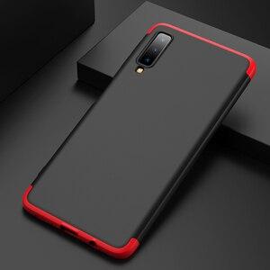 360 полный защитный чехол для телефона Samsung Galaxy A6 A8 A7 A9 2018 J2 J4 J6 Plus J8 2018 чехол с закаленным стеклом
