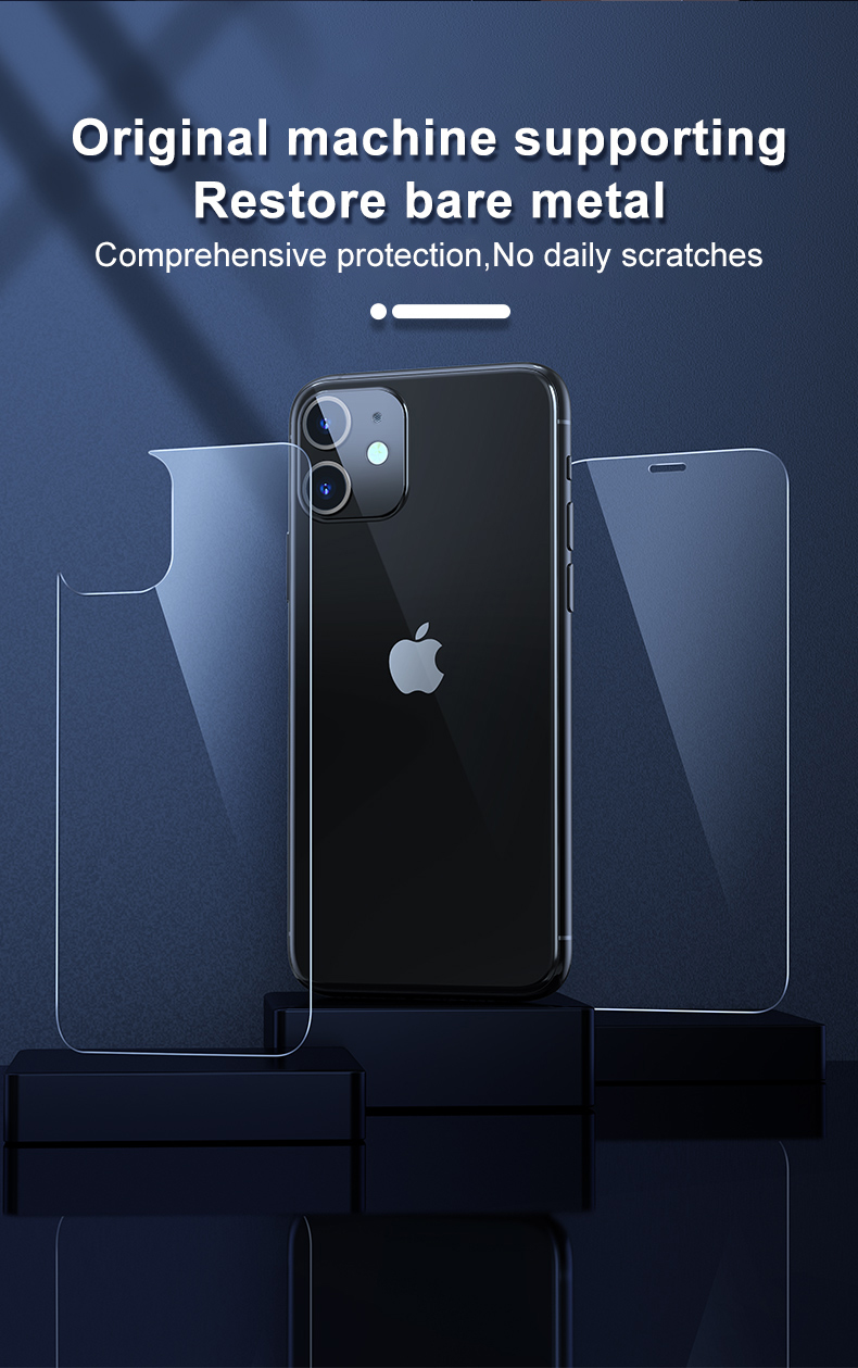 iPhone 12 Pro Max Tempered Glass Case