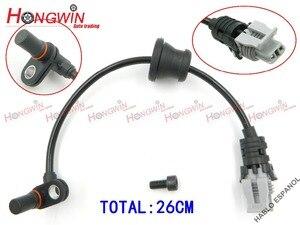 Image 4 - 4pcs One Set ABS Wheel Speed Sensor Fits Pontiac Chevrolet Equinox Captiva Saturn Opel 2007 2013 96626078, 96626080