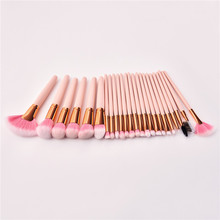 24PCS Makeup Brushes Set Beauty Cosmetics Blending EyeShadow Lip Powder Foundation Pincel Maquiagem Tool T24001 недорого