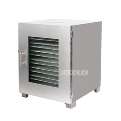 16 Layer Full Stainless Steel Food Dehydrator Snack Dehydration Fruit Vegetable Drying Machine Flower Tea Dryer Machine DH616