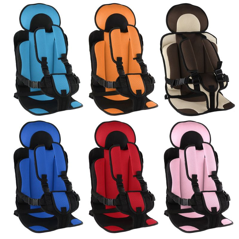 New 1-5T Travel Baby Safety Seat Cushion With Infant Safe Belt Fabric Mat Little Child Carrier Prot