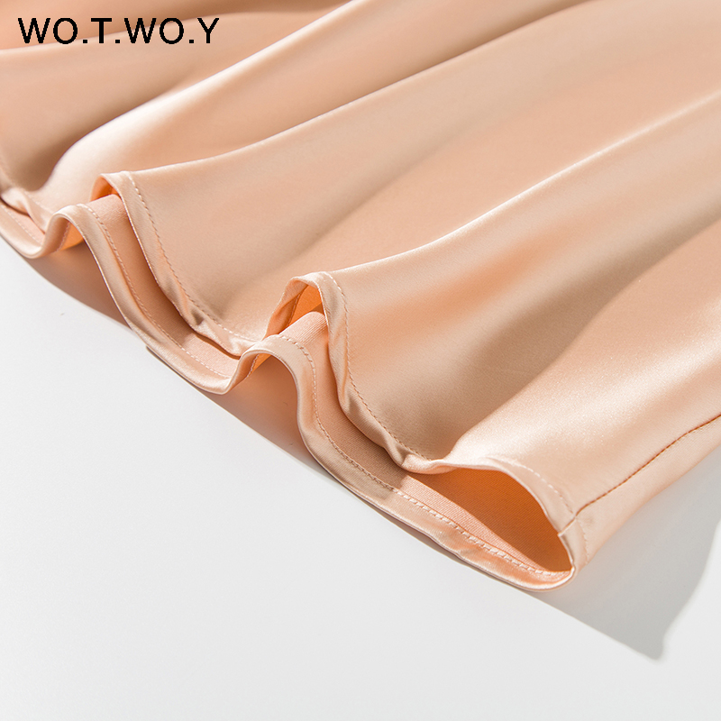 Hce3a8ab040b24ba68d57d7e0a7e40813V - WOTWOY Sexy V-neck Sleeveless Dresses Women Spaghetti Strap Mid-Calf Sheath Party Dresses Femme Clothes Women Summer New