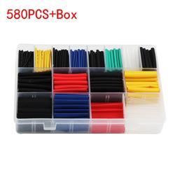 Multicolor Heat shrink tube kit Insulation Sleeving termoretractil Polyolefin Shrinking Assorted Heat Shrink Tubing Wire Cable