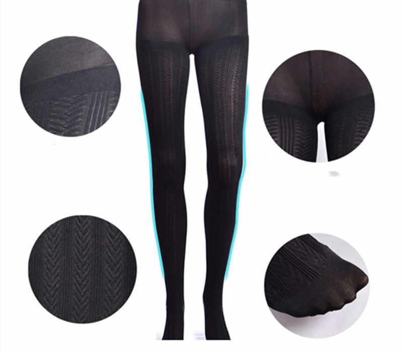 คุณภาพ Pantyhose ฤดูหนาว SHEER Tights Panty PLUS ขนาด Pantyhose Tights ผู้หญิงเอวสูงจัดส่งฟรี