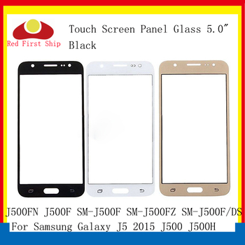 10Pcs/lot Touch Screen For Samsung Galaxy J5 2015 J500 J500H J500FN J500F Touch Panel Front Outer Glass Lens J5 LCD Glass image