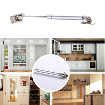 цена на 100pcs NEW Hydraulic Support Rod Strut Lift Support Rod Hydraulic Gas Shocks Durable For Kitchen Door Cabinet Lid Stay 100N