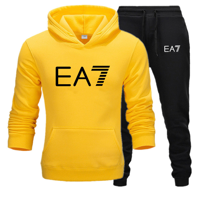 Kensbuy Sweatshirt Long-sleeve Hoodie Plain Color Printed Casual Sportswear Spring And Autumn New Men's And Women's Wear