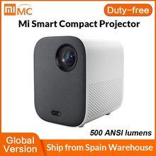 Xiaomi – projecteur Compact Mi 1080P DLP pour Home cinéma, 500 lumens ANSI, Android TV 9.0, compatible vidéo 4K, Version internationale
