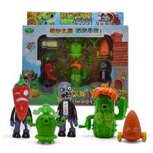 цена на New  Plants Vs Zombies Struck Game Toy Action Toy Figures Building Blocks Bricks Brinquedos Toys My World Minecraft