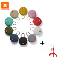 JBL Clip3 IPX7 עמיד למים אלחוטי Bluetooth רמקול מקורי קליפ 3 נייד חיצוני ספורט רמקולים עם וו שיחה ללא ידיים