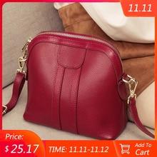 Genuine Leather Shoulder Bag Luxury Handbags Women Bags Designer Ladies Small Crossbody Bags For Female Messenger Bag Purse