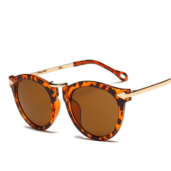 XaYbZc Cat Eye Sunglasses Women Luxury Brand Arrow Sun Glasses Vintage Shades For Woman Sunglass Ladies Flowers Sunglases 4