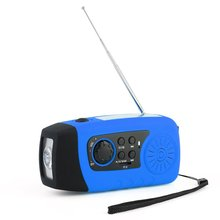 Portable Outdoor New Multi-functional Rechargeable MP3 Audio Music Player FM Radio Flashlight Loudsp