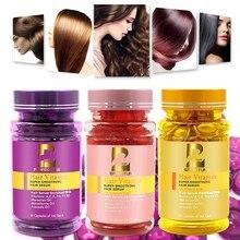 50Pcs Hair Capsule Shampoo Essential Oil Processed Ginger Cinnamon Care Shampoos