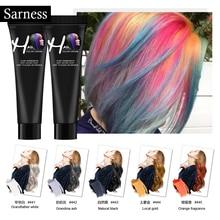 Sarness, горячая Распродажа, модная, унисекс, Формовочная паста, краска для волос, воск, сделай сам, цвет волос, воск, краска для волос, воск, легко мыть