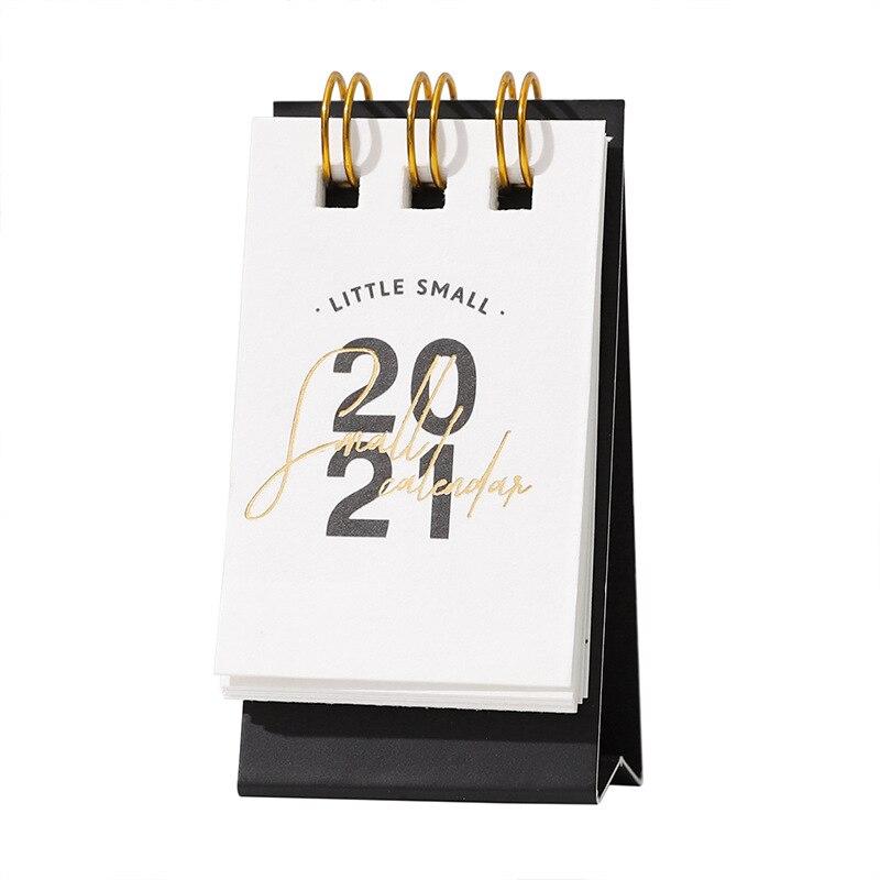2021 Year Kraft Paper Mini Desk Calendar 5