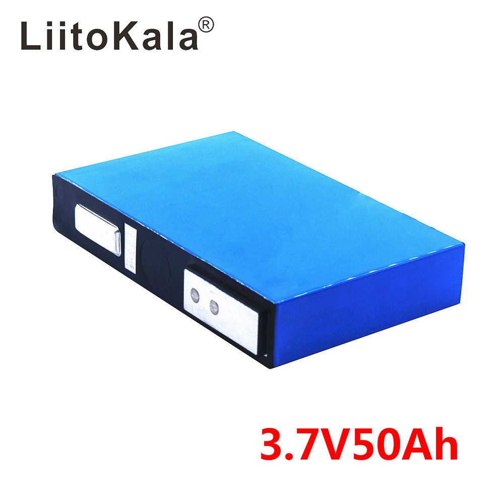 LiitoKala 3.7v 37Ah 40Ah 50Ah Li-ion Battery High Drain Power Cell For Diy 24v Sightseeing Coach/Lighting/Solar Energy Storage
