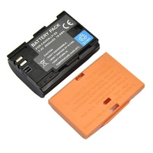 LP-E6 портативный 7,4 В 2650 мАч большой емкости литиевая батарея Профессиональный для Canon EOS 6D 80D цифровой