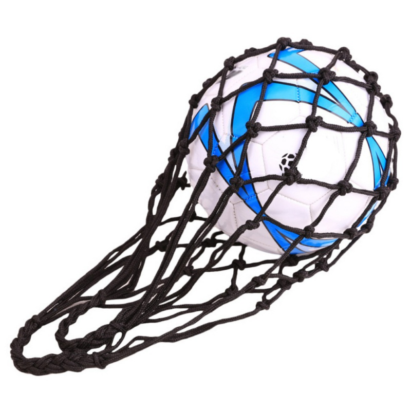 Bold Single Only Lightweight Portable Durable Wear Resistant Nylon Net Bag Basketball Soccer Volleyball Football Ball Net Bag