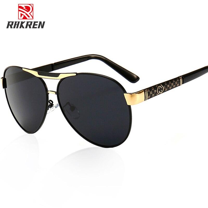 Retro Polarized Sunglasses Men Classic Brand Designer Driving Sun Glasses Male Point Sunglasses UV400 Eyewear Accessories