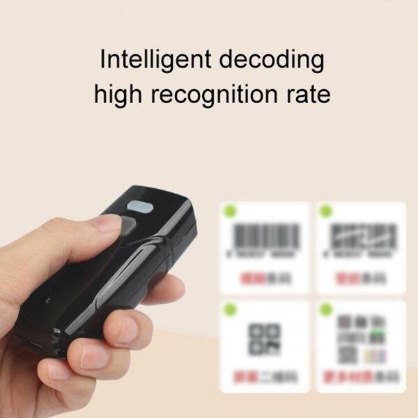 um código qr sem fio bluetooth scanner