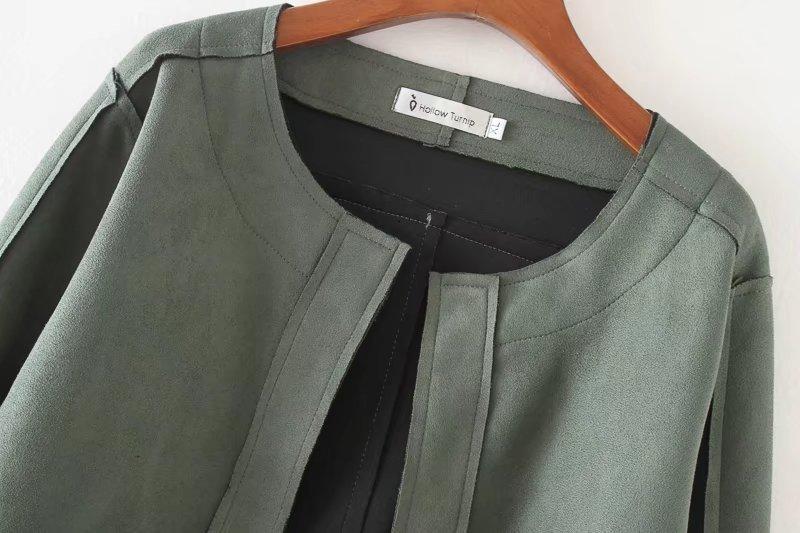 primavera, verão coreano, azul cáqui, tamanho grande casaco com revestimento