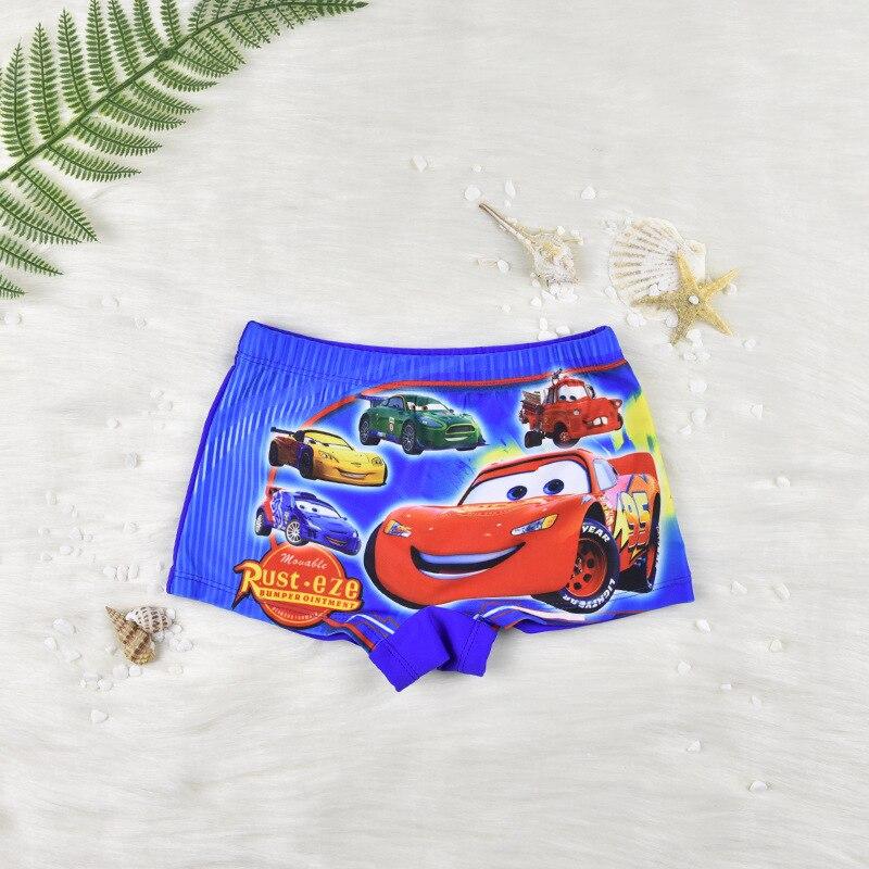 2019 New Style Europe And America Cartoon BOY'S Swimming Trunks Korean-style Cute Children Boxer Swimming Trunks