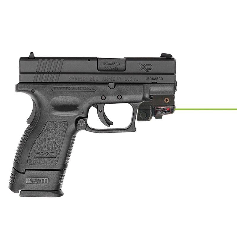 Built in Rechargeable Pistol Airsoft Red Dot Green Laser Pointer Sight for Glock 17 Laser Colt 1911 Self Defense Gun Laser-1