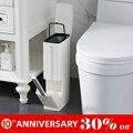 UNTIOR 6L пластиковая мусорная корзина с туалетной щеткой мусорное ведро многофункциональные инструменты для уборки ванной комнаты