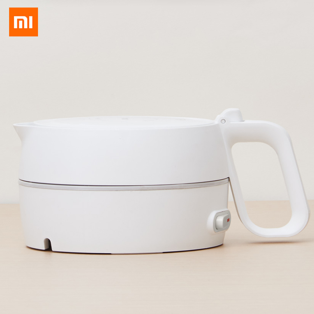 Xiaomi Mijia HL Folding Electric Kettle Handheld Instant Heating Electric Water Kettle Auto Power off Protection Wired Kettle