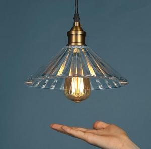 Простой американский подвесной светильник в скандинавском стиле для ресторана, спальни, стеклянный светильник для столовой, коридора, гост...