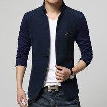 Slim Fit Woolen Coat Blazer Men RK