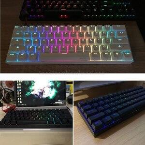 Image 3 - Anne Pro2 60% Bluetooth 4.0 Type C RGB 61 Keys Mechanical Gaming Keyboard Cherry Switch Gateron Switch