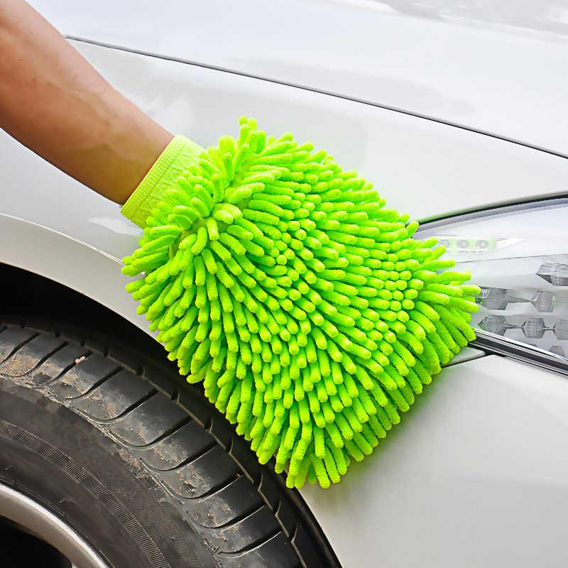 1pc Durevole In Microfibra Finestra di Automobile di Lavaggio Panno di Pulizia Duster Asciugamano Guanti di Lavaggio a Secco Anti Scratch Auto Rondella