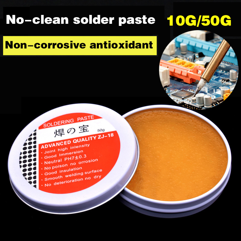 10g/50g Environmental Soldering Paste Mild Rosin Flux Welding Soldering Gel Tool For Metalworking Electrical Soldering Metal Box