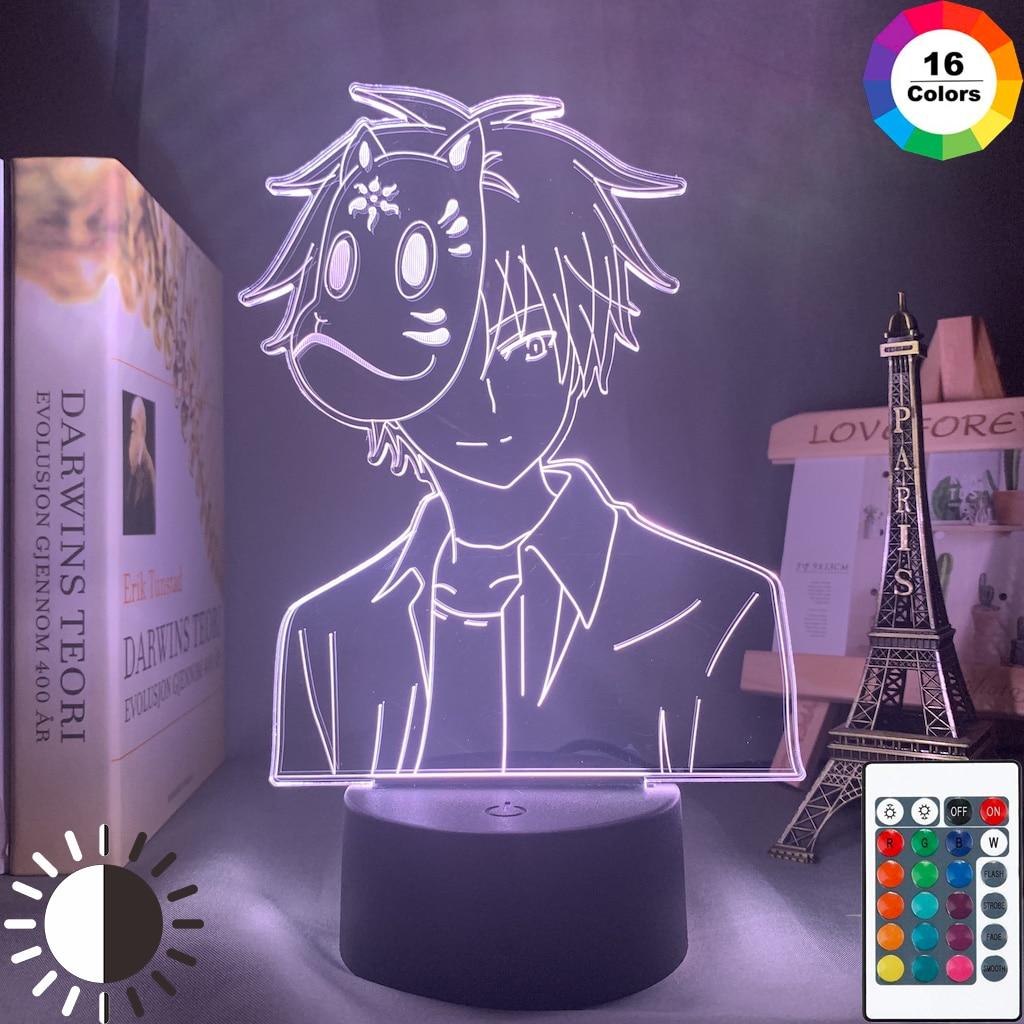 Аниме ночной Светильник Hotarubi No Mori E Ginn, фигура для детей, декор комнаты для девочек, фильм, светильник, светлячок, лес, Kinn, Подарочная лампа