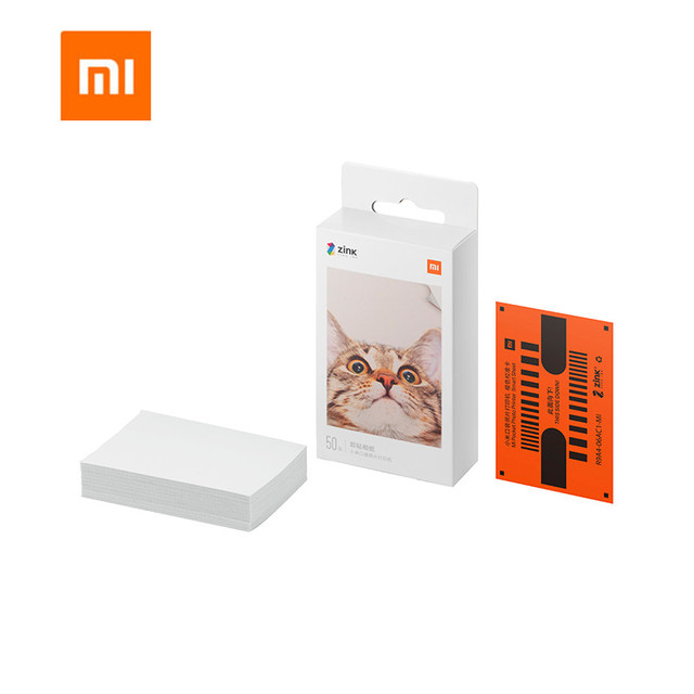 شاومي mijia AR طابعة 300 ديسيبل متوحد الخواص المحمولة صور جيب صغير مع لتقوم بها بنفسك حصة 500mAh طابعة صور طابعة جيب العمل مع mijia