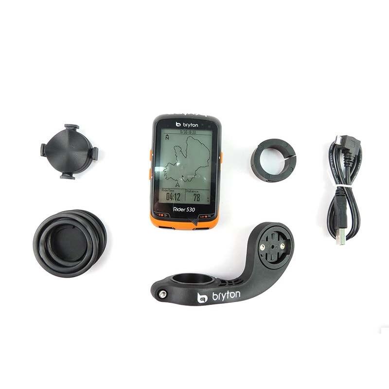 Bryton Rider 530T GPS bicicleta ciclismo ordenador y extensión montaje ANT + velocidad cadencia Sensor Dual Monitor de ritmo cardíaco R530 - 3