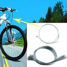 2 pçs universal mtb bicicleta de estrada da bicicleta cabo de freio interno núcleo fio linha de freio cabos acessórios 2021 dropshipping linha cabo