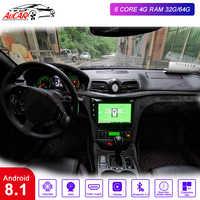 "AuCAR 9 ""Android 8.1 DIN Auto multimedia radio für Maserati GT/GC GranTurismo 2007-2015 GPS navigation Stereo audio DVD player"
